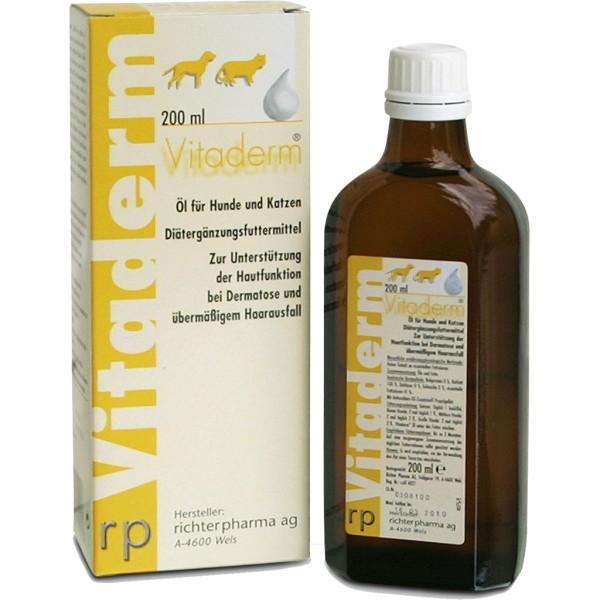 Vitaderm Öl 200ml